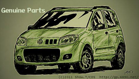 PSP壁紙サイズ トップ絵no.26:Fiat Uno [2011-model] : by 祥